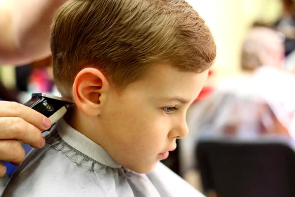 детская стрижка в Минске, стрижка для мальчиков в Минске