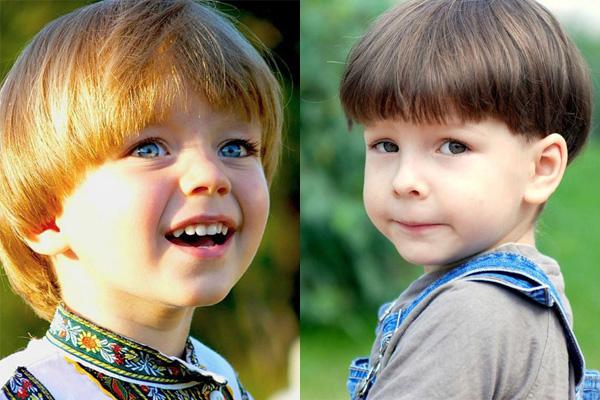 детская стрижка в Минске, стрижка шапочка в Минске, детские стрижки для мальчиков